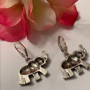 Fashion Jewelry Jewelry - Dangling Elephant Earrings